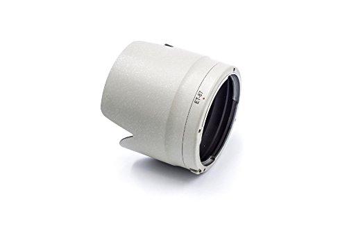 vhbw Parasol de Objetivo Blanco-Gris, plástico para Canon EF 70-200mm F2, 8L IS II USM reemplaza ET-87.