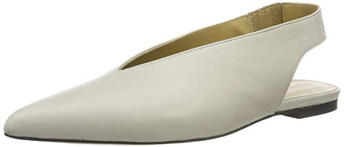 Another project 5410, Sandales Bout Ouvert Femme, Beige (Beige FFF68F), 37