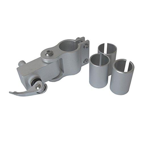 Diverse Unisex– Erwachsene Ersatzkupplung-3099006720 Ersatzkupplung, Silber, One Size