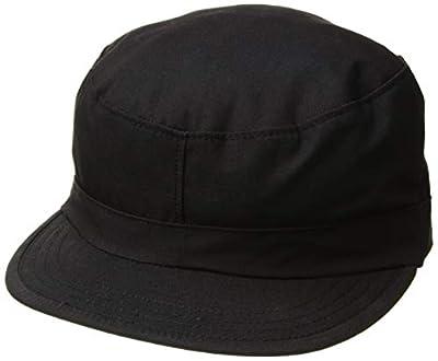 Propper Men's Bdu Patrol Cap - 100% Cotton, Black, Large