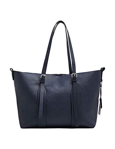 ESPRIT Damen Handtasche Tasche Shopper Liz shopper Blau