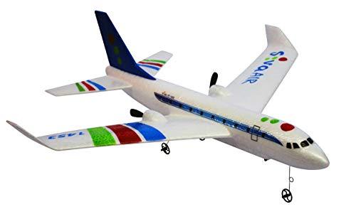 Siva Air 1453 blau 2.4 GHz RTF RC Passagierflugzeug Modellflugzeug