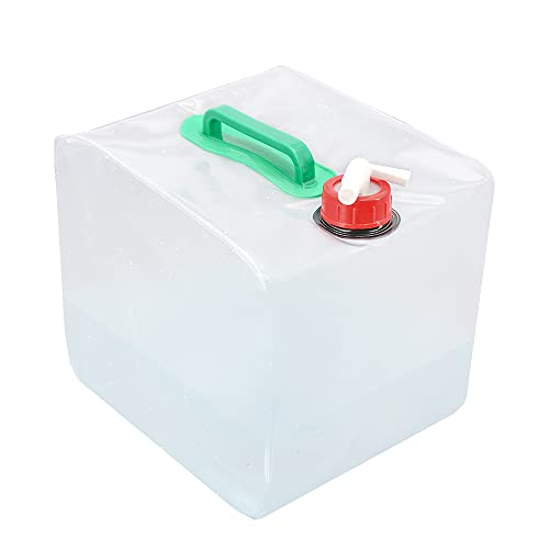 12L Outdoor Storage Water  Bucket Tank Container Tap Camping Picnic Portable UK