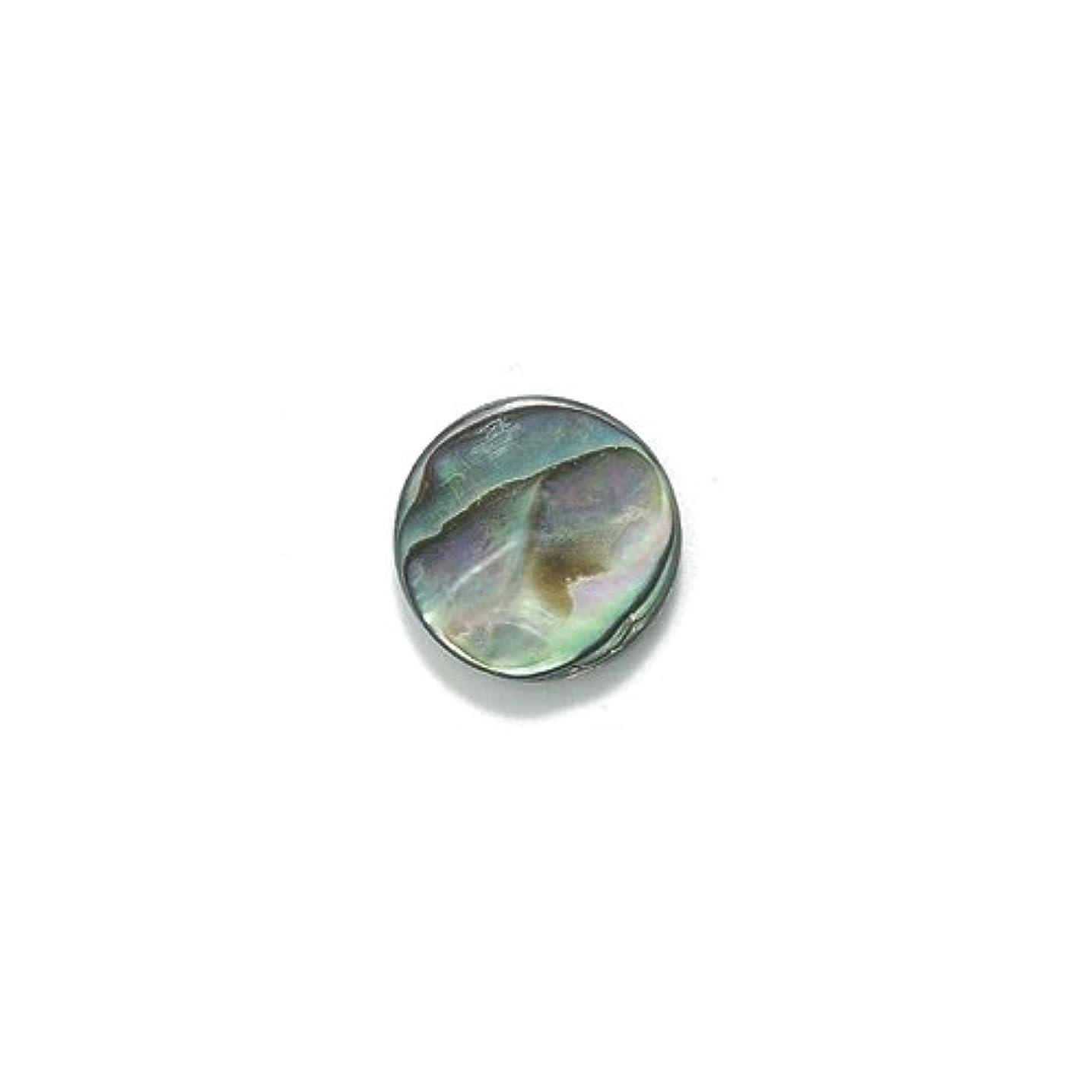 Shipwreck Abalone Flat Round Beads, 12-mm, 32-Piece/Pack