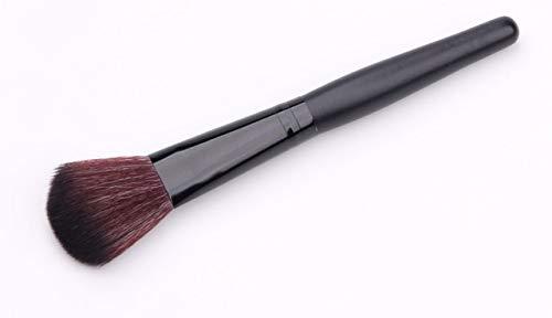 1 Pièce Makeup Brush Fan Brush Femme Maquillage Noir Maquillage Brosse Liquid Foundation Caché Cheveux Synthétiques Surligneur Effilée 1pcs