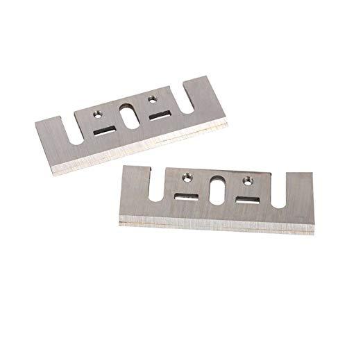 SANKUAI 2pcs 1900b 82mm Cuchilla de cepillador de carburo Cuchillo de cepillador de Madera Reversible para Piezas de maquinaria de carpintería 82x29x3mm