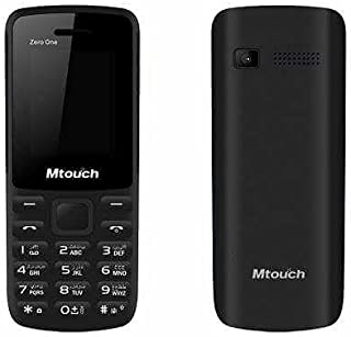 Mtouch Zero Dual SIM Mobile Phone - Black