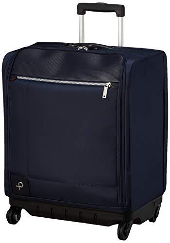 [プロテカ] スーツケース 日本製 マックスパスソフト3 100席以上持込み可能 ストッパー付き 1〜2泊向け 25 cm 2.4kg ネイビー