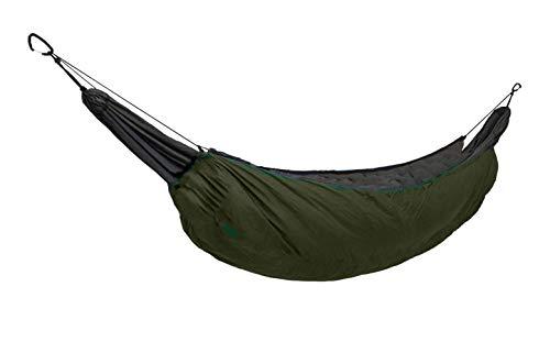 ZIDAJINC Leichte Hängematte In Voller Länge, Ultraleichter, Isolierter Schlafsack Für Camping, Campingbett Für Outdoor-Reisen