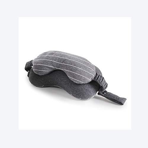 LIAIHONG Augenmaske nackenkissen büro nickerchen Kissen reisekissen grau 02 24 * 13 * 14cm