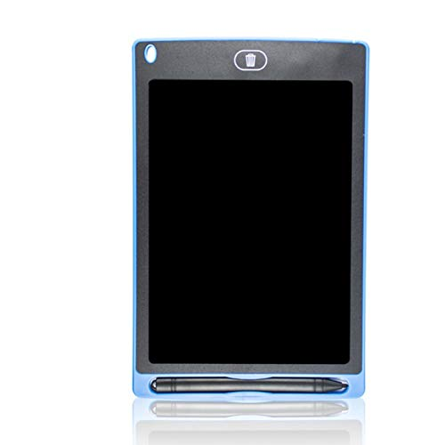 MOHAN88 Tablero de Escritura LCD de 8.5 Pulgadas Tablero de Escritura a Mano LCD Tablero de Mensajes de Dibujo de Doodle de educación Infantil temprana Tablero de Mensajes - Azul