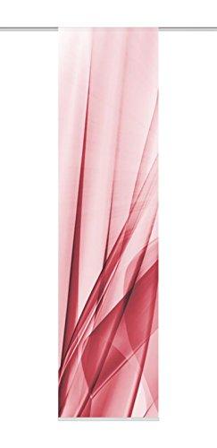 Home Fashion Flächenvorhang, Rot