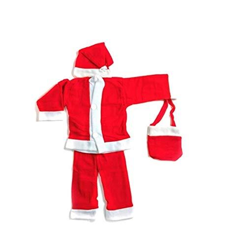 Brown Leaf® Christmas Santa Dress for Children (0 no. Size (0-6 Months))