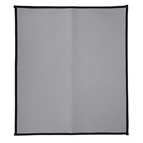 Protector de cubierta de tapetes para parrilla, tapete para fogatas, tela ignífuga, rectangular, portátil para picnic al aire libre para acampar