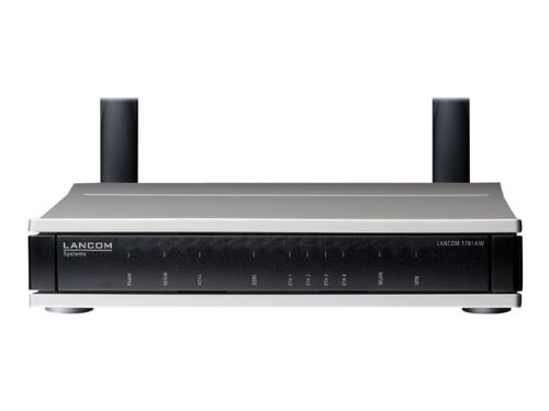 Lancom Systems 1781AW VPN-ROUTER WITH MULTIMODE ADSL2+ MODEM (A/B/J/, 62014 (MULTIMODE ADSL2+ MODEM (A/B/J/)