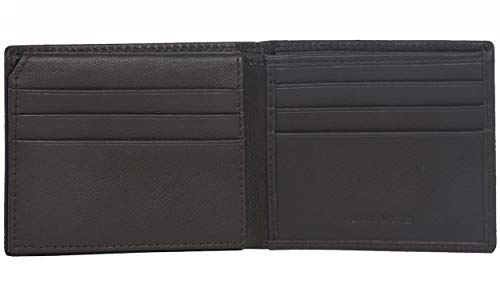 Eono Essentials Credit Card Wallet for Men with Flap- Slim RFID Protected 2 Money Compartment (Brown Nappa)