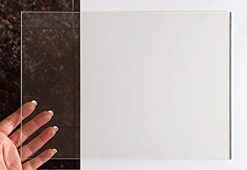 Placa de Metacrilato Transparente 3 mm | Plancha de Acrílico Incoloro | Lámina de Plástico | 14,8x21 cm | 21x29,7 cm | 29,7x42 cm (1 UD de 14,8x21 cm)