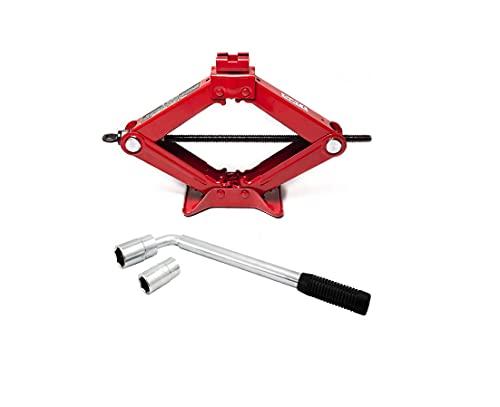 Xtremeauto Car Breakdown/Emergency - 1 tonne Scissor Jack + Cross Wheel...