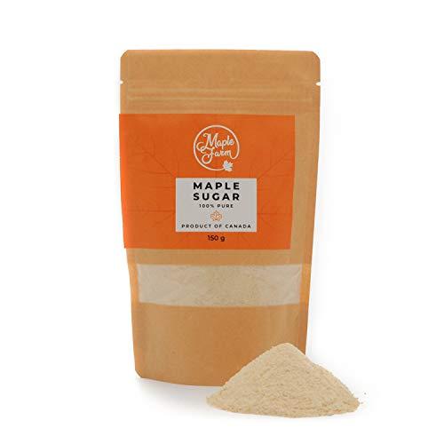MapleFarm - Reiner Ahornzucker - Zucker aus Ahornsirup - 150g