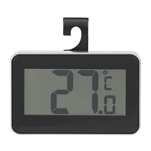 Binnen/buiten thermometer Hoge precisie waterdichte elektronische thermometer Compact/licht/draagbaar (zwart)