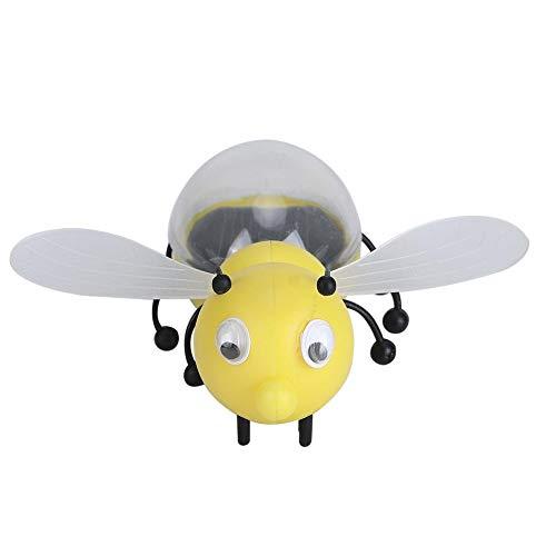 Simulación Energía solar Juguete de abeja Miel Niño Educación educativa inteligente Juguete de aprendizaje Animal Modelo de insecto para fiesta Halloween Navidad