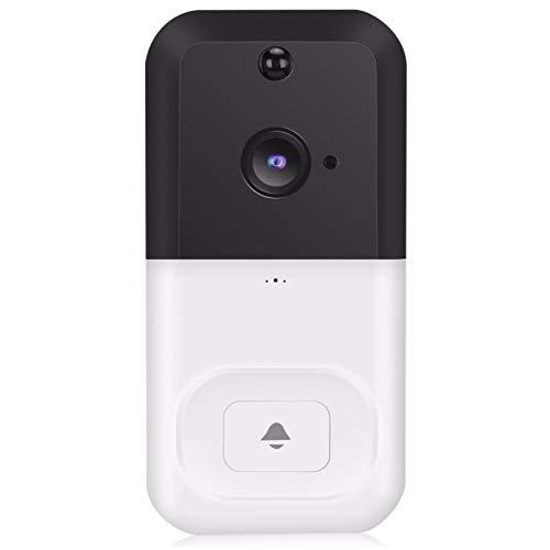 HSTD Video Doorbell Camera, Wireless Home Security Door Bell, 720P HD...