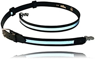 Boston Leather Reflective Firefighter`s Radio Strap / Belt