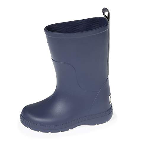 Isotoner - Botas para niño (talla 35/36), color azul