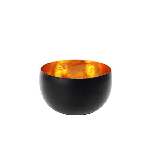Creative Tealights - Teelichtschale, Innen gold