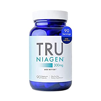 NAD+ Supplement More Efficient Than NMN - Nicotinamide Riboside for Energy Metabolism Vitality Muscle Health Healthy Aging Cellular Repair  Patented Formula  90ct - 300mg  3 Months / 1 Bottle