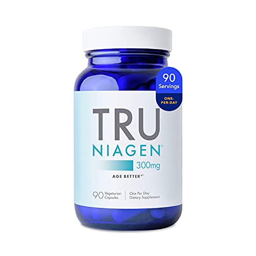 Patented NAD+ Booster Supplement More Efficient Than NMN - Nicotinamide Riboside for Cellular Energy Metabolism & Repair. Vitality, Muscle Health, Healthy Aging - 90ct - 300mg (3 Months / 1 Bottles)