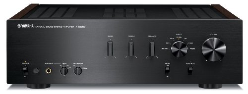 Yamaha A-S2000BL Natural Sound Stereo Amplifier (Black)