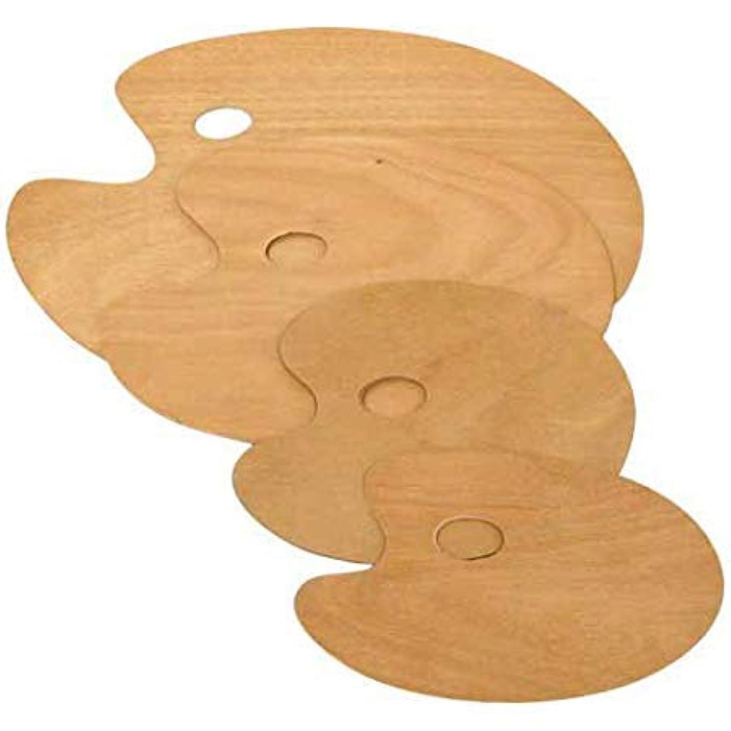 Wood Palette Oval 9.88x11.75