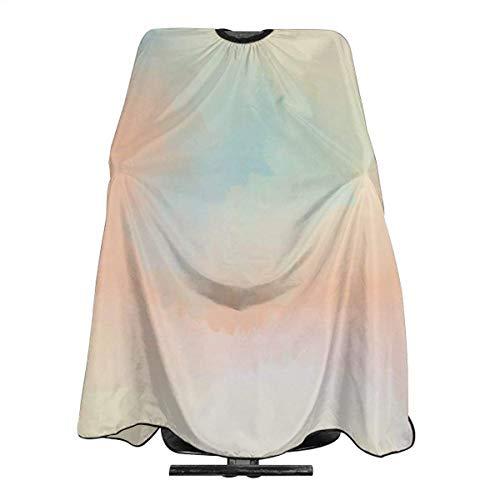 Professionelle Salon-Umhang, abstrakt, bunt, Pastellfarben, Polyester, Baber Cape, Haarschnitt, Schürze, 167,6 cm x 55 cm