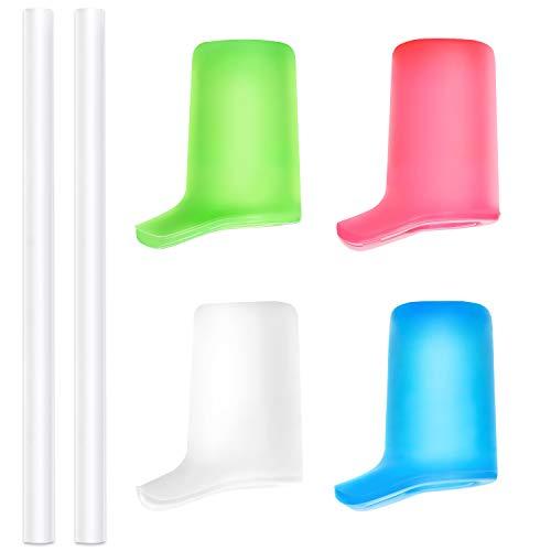 Sinonia Beißventile und Trinkhalme für CamelBak Eddy and Groove Wasserflasche – 4 Stück (verschiedene Farben)