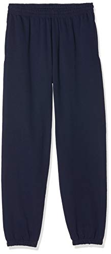 Fruit of the Loom Jogpants mit offenem Beinabschluss Navy XL