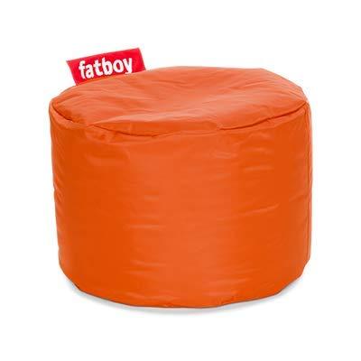 Fatboy Point Sgabello Nylon | Sgabello/Stool Sedile Rotondo Arancia Design | 35 x ø 50 cm