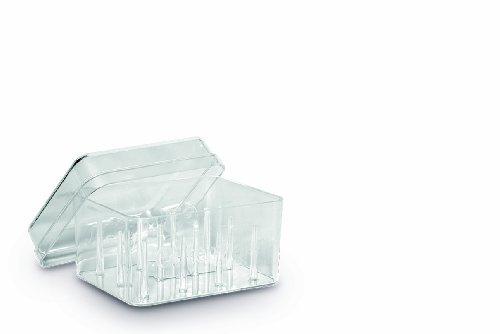 Unbekannt Gutermann 12-Spool Acryl Nähgarn Box, transparent, Plastik, farblos, One Size
