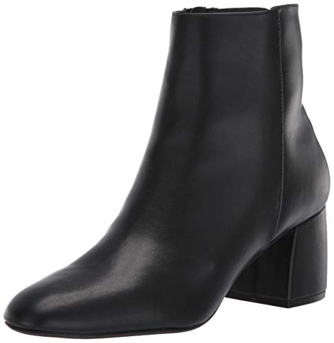 Chinese Laundry Women's DAVINNA Ankle Boot, Black Smooth, 7.5 M US