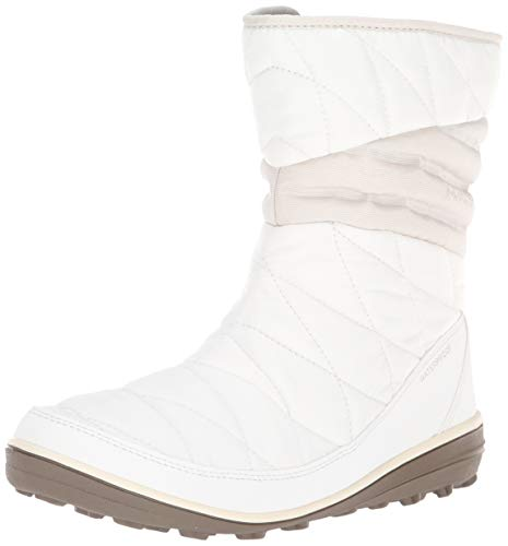 Columbia Women's Heavenly Slip II Omni-Heat Snow Boot, sea Salt, Fawn, 8