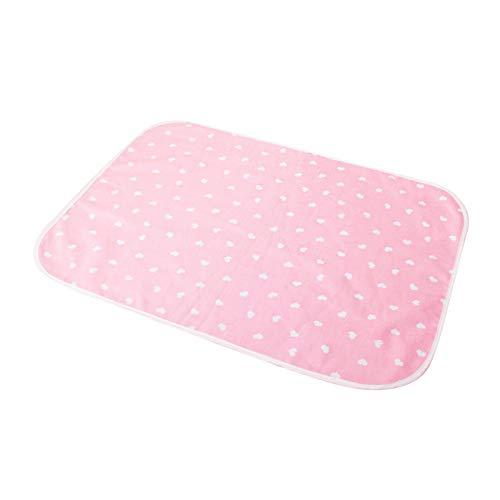 shiftX4 Cambiador de bebé reutilizable impermeable transpirable pañal colchón para recién nacido bebé mascota algodón lavable cambiadores