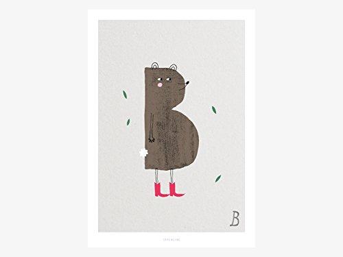 Kunstdruck Poster / ABC Kids B