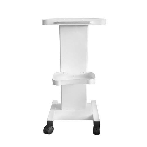 Beauty Salon - Carrito médico portátil con compartimento de almacenamiento y ruedas universales silenciosas para herramientas de belleza (con mango, estilo 1)