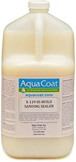 Aqua Coat, Best Sanding Sealing. Hi-Build, Water Based, Low Odor, Fast Drying, Non-Toxic. Environmentally Safe. Quart