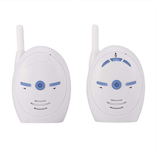 Draagbare draadloze 2,4 GHz digitale audio-babyfoon Gevoelige overdracht Stem bidirectioneel digitaal draadloos verzendapparaat EU-stekker