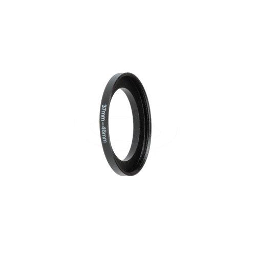 Fotodiox Metall Step Up Filteradapter Ring, eloxiert Schwarz Metall 37mm-46mm, 37-46 -- Objektivgewinde auf Filtergewinde
