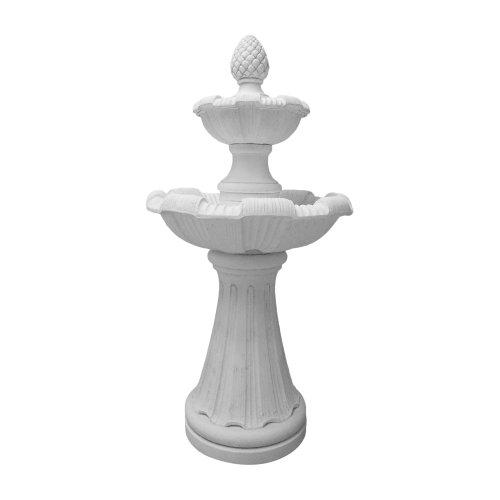 fantasieco! Gartenbrunnen Pisa I Etagenbrunnen Springbrunnen - Avorio