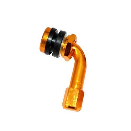 Válvula de neumático de Motocicleta Universal Tapa de vástago de aleación de aleación de aleación de aleación Válvula Vástago de 90 Grados de Estilo de Coche