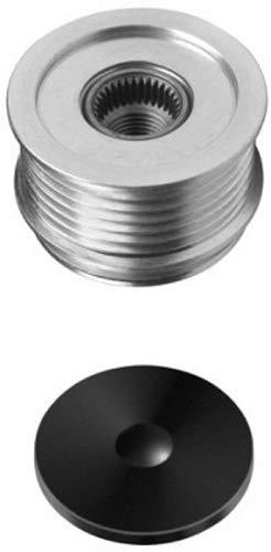 HELLA 9XU 358 038-041 Generatorfreilauf - Gewindemaß: M16x1,5 - Anzahl der Rillen: 6 - mit Kappe