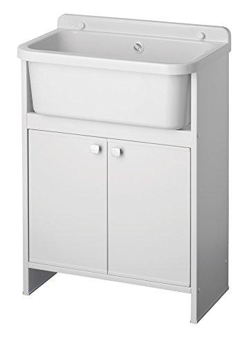 Negrari 5001pkc Lavatoio Salvaspazio, blanco, 55 x 35 cm